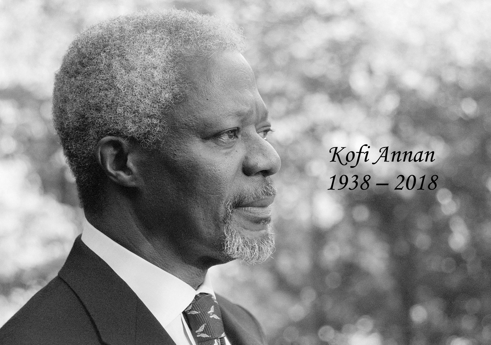 Image result for kofi annan 1938-2018