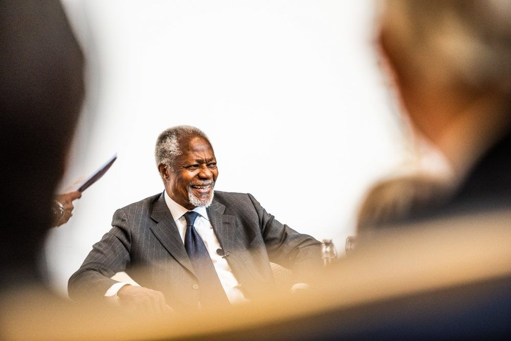 Kofi Annan opens the Bonavero Institute of Human Rights